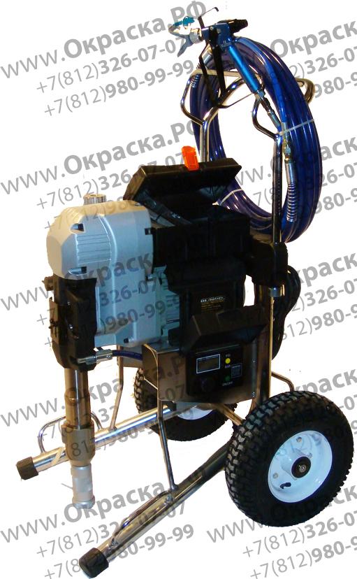 Агрегат высокого давления для высоковязких составов и штукатурки