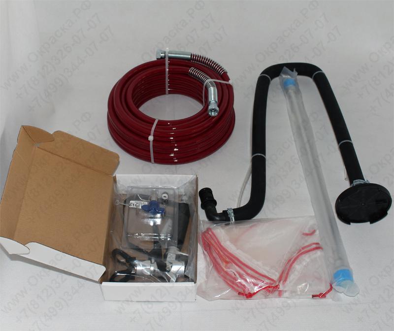 Комплектация краскораспылителя AS-1800 окрасочный аппарат , агрегат