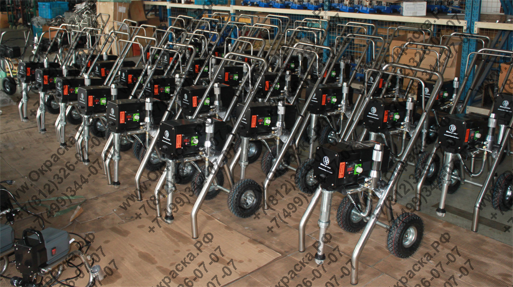 склад готовой продукции и агрегатов высокого давления авд с возможностью подачи высоковязких красок и огнезащитных составов