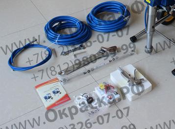 комплектация окрасочного агрегата безвоздушного распыления
